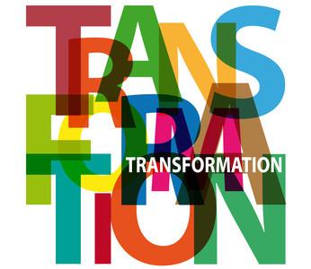 Vector Transformation. Broken text